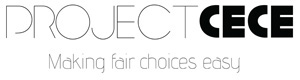 Project Cece Logo vegan en andere duurzame kleding. Partner De Duurzame Kaart