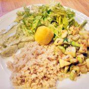 3 Kleuren Groen vegan groenten recept op Vegetarisch Weekmenu