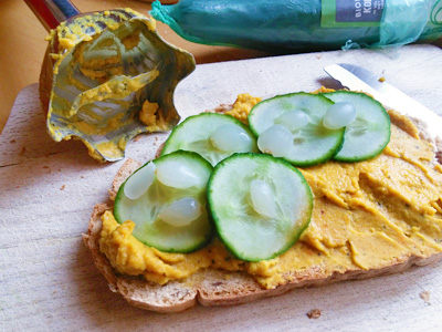 Broodbeleg maken van groenten. Recept op Vegetarisch Weekmenu
