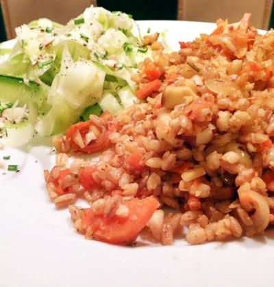 Rijst met paranoten recept op Vegetarisch Weekmenu