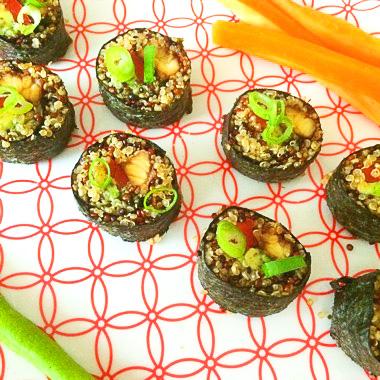 Sushi maken vegan recepten op Vegetarisch Weekmenu