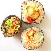 Sushi veganistisch Vegetarisch Weekmenu