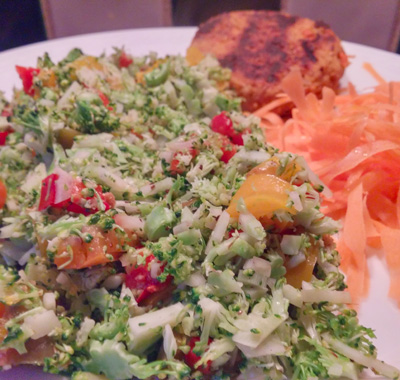 Broccoli salade recept van Vegetarisch Weekmenu