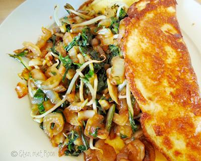 Omelet maken met yoghurt recept op Vegetarisch Weekmenu