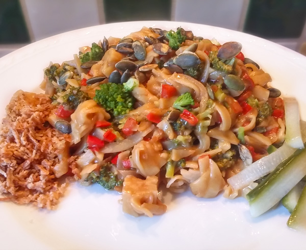 Bami van Marie recept Vegetarisch Weekmenu