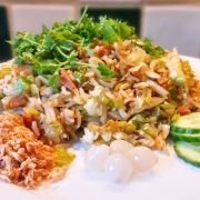 Koelkast leeg nasi vegan versie op Vegetarisch Weekmenu