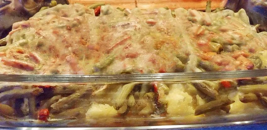 Sperziebonen schotel uit de oven recept op Vegetarisch Weekmenu