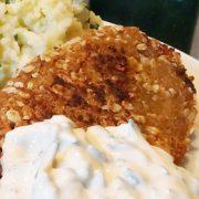 Witte bonenburger met mayo kruidensaus recept Vegetarisch Weekmenu