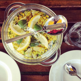 Risibisi vegetarisch rijstsalade recept van coachSander op Vegetarisch Weekmenu