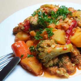 Broccoli wortel stoof met Apetitka recept op Vegetarisch Weekmenu