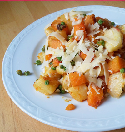Flespompoen aardappel recept stoof op Vegetarisch Weekmenu