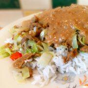 Spitskool paprika met basmati rijst op Vegetarisch Weekmenu