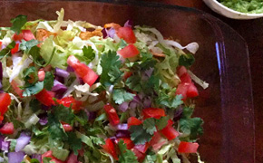 Kapsalon lookalike Queenie recept op Vegetarisch Weekmenu
