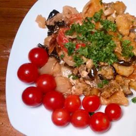 Gnocchi met geroosterde groente oven gerecht Bijdrage Emma Vegetarisch Weekmenu