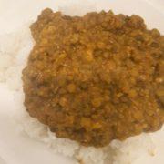 Linzen mix Hak rijst hoofdgerecht vega maaltijd Gaby Vegetarisch Weekmenu