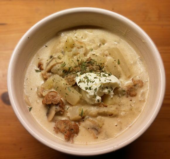 Maaltijdsoep koolrabi aardappel makkelijk recept Vegetarisch Weekmenu
