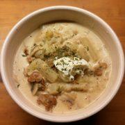 Maaltijdsoep koolrabi aardappel snel soep recepten Vegetarisch Weekmenu