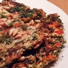 Recept pannenkoek met boerenkool hoofdgerecht vegetarisch