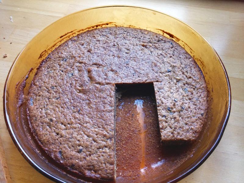 Bananencake zonder ei vegan noten chocolade gebak Vegetarisch Weekmenu