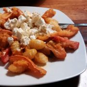 Flespompoen met gnocchi veggie recept uit de oven Vegetarisch Weekmenu
