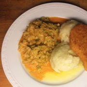 Knödeln knoedel recepten aardappelen gerookte prei pimenton la chinata sweet Vegetarisch Weekmenu