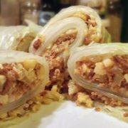Bloemkool kerrie verpakt recept Chinese kool Vegetarisch Weekmenu