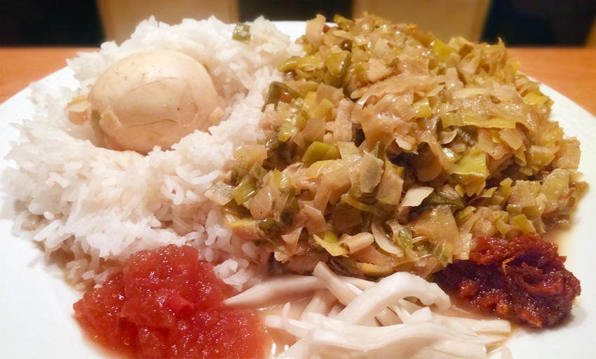 Fris gekruide prei roerbak slank recept ei rijst vegetarisch weekmenu