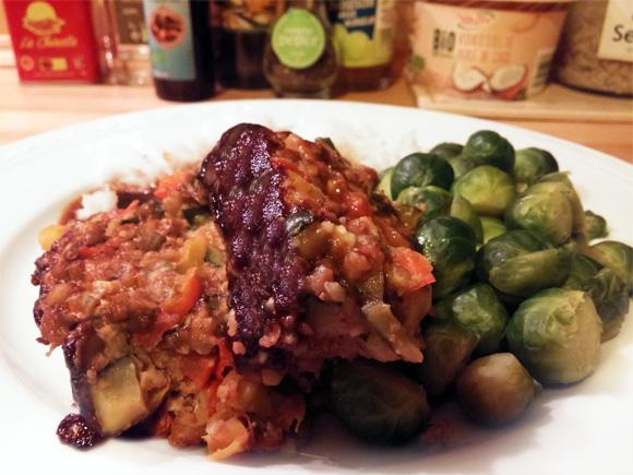 Groentebrood recept linzen, paprika courgette Vegetarisch Weekmenu