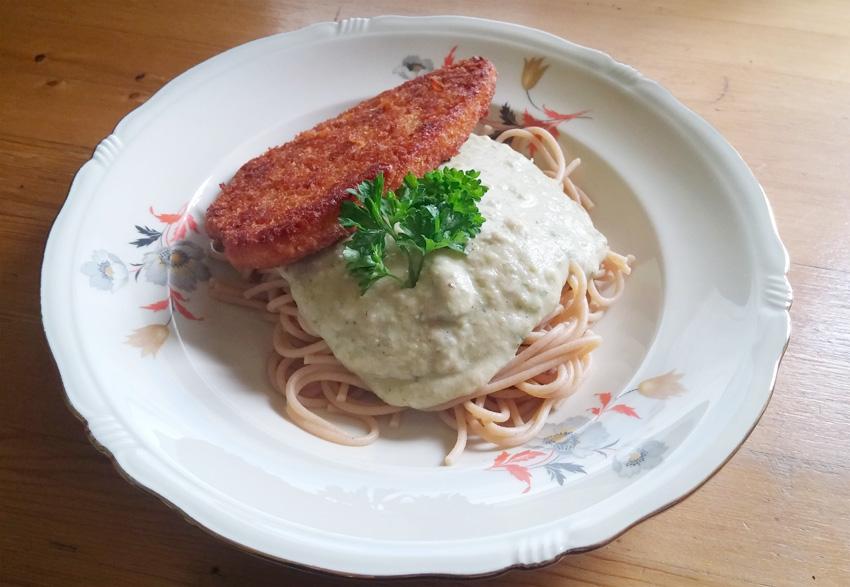 Kievitsbonen met salie pasta