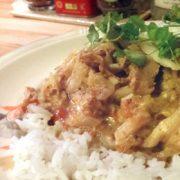 Tandoori wokstukjes met Chinese kool vegan veganistische Vegetarisch Weekmenu