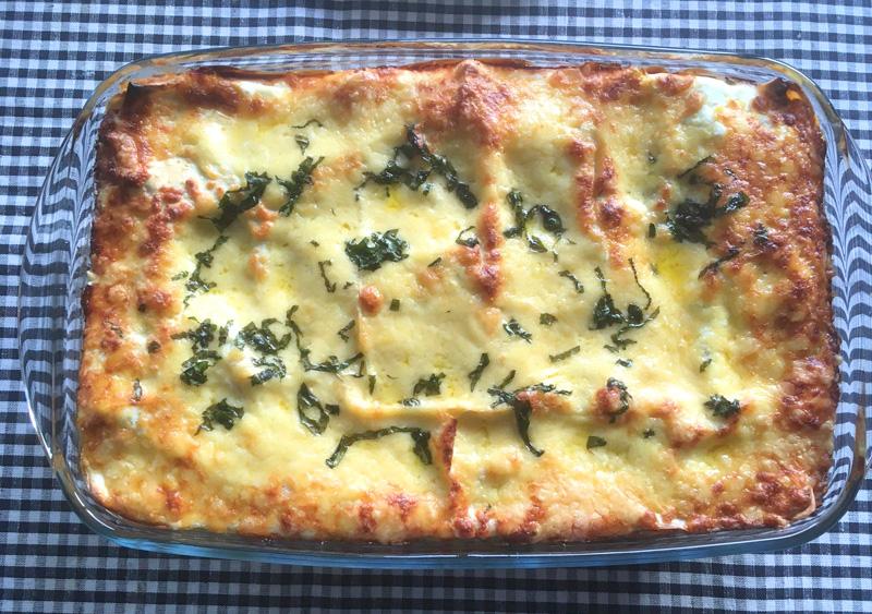 vegetarische lasagna recept binnenste buiten - bijdrage karin