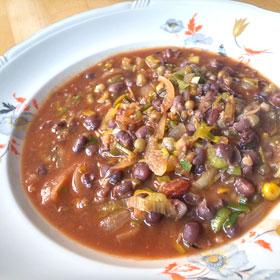 Adukibonen mungbonen soep gerecht Vegetarisch Weekmenu