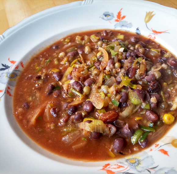 Adukibonen mungbonen soep vegan recept Vegetarisch Weekmenu