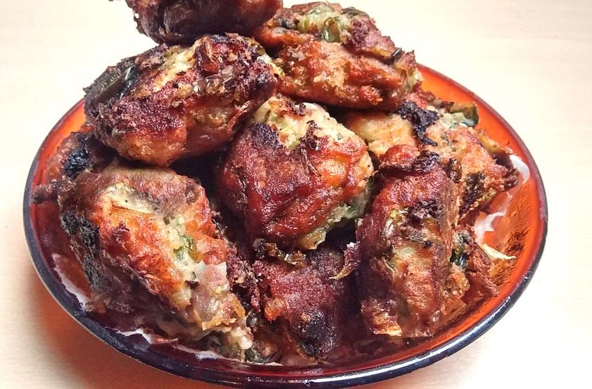 2 in 1 recept met andijvie stampot frituren zaterdag hap Vegetarisch Weekmenu