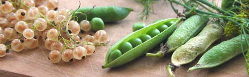Groente van het seizoen mei maand seizoensgroente verse doperwtjes Vegetarisch Weekmenu