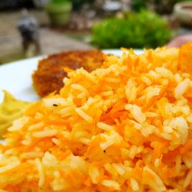 Creamy wortel rijst recepten hoofdmaaltijd Vegetarisch Weekmenu