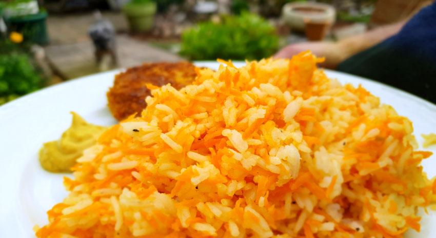 Creamy wortel rijst vega burger recept hoofdgerecht #wewv Vegetarisch Weekmenu