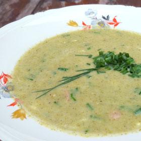 Romige broccoli soep maaltijdsoep recept hoofdmaaltijd Vegetarisch Weekmenu