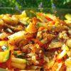 Courgette maaltijdsalade recept vegan cashewnoten tijm colakruid Vegetarisch Weekmenu