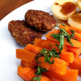 Vegetarische graan burgers recepten van oud brood