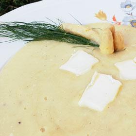 Romige venkelsoep aardappel recept asperges Vegetarisch Weekmenu