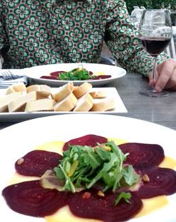 Agnietenberg Zwolle vegan voorgerecht alcoholvrije wijn Vegetarisch Weekmenu