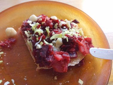 Boterham beleggen ontbijt Vegetarisch Weekmenu