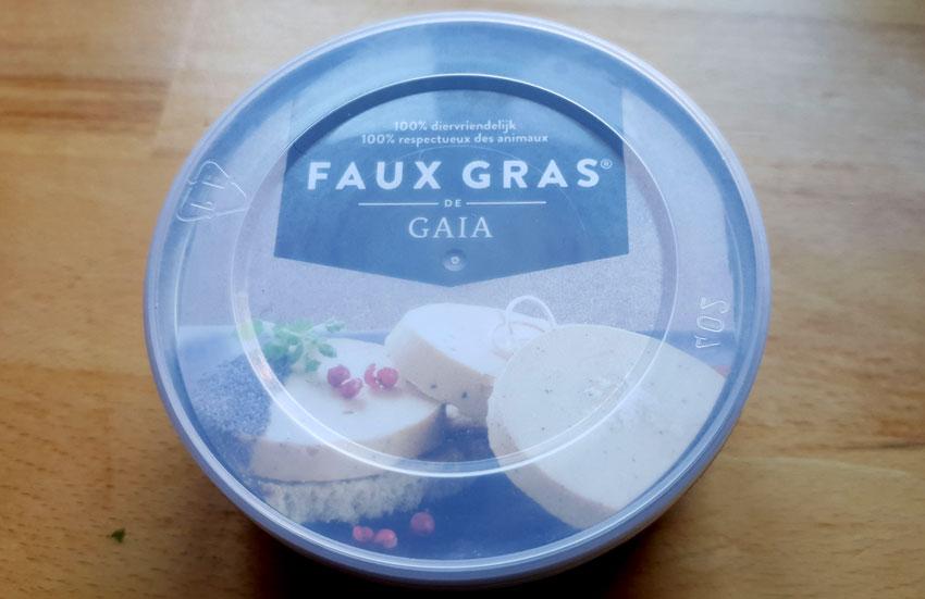Faux Gras Gaia dierenrechten diervriendelijk vegan Vegetarisch Weekmenu