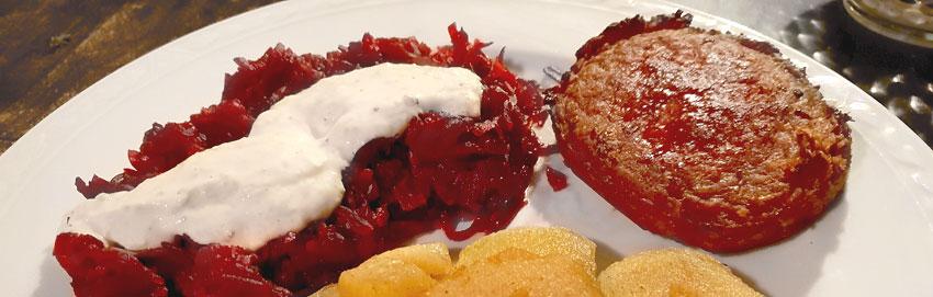 Rode bietjes mascarpone saus snel recept Vegetarisch Weekmenu