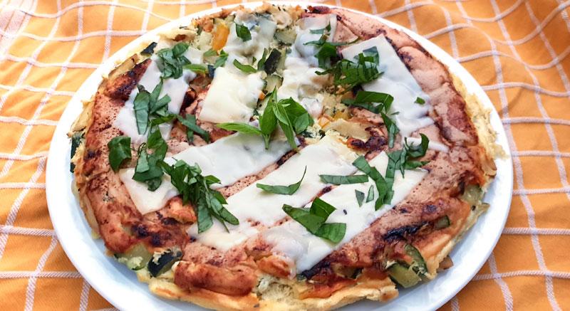 Omelet courgette recept zaterdaghap Vegetarisch Weekmenu