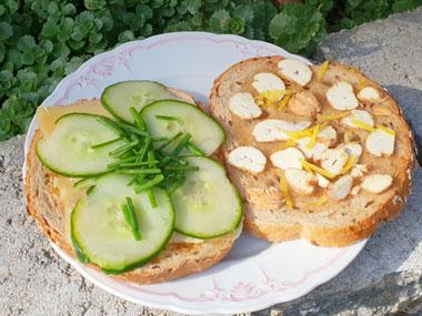 Welk vegetarisch broodbeleg doe je op je boterham
