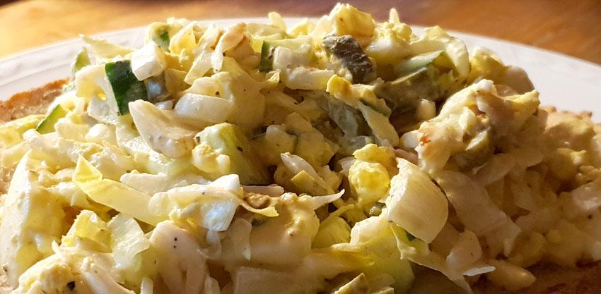 Witlof witlofsalade recept hoofdgerecht Vegetarisch Weekmenu