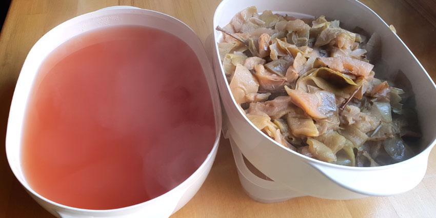 Zelf appelsiroop maken appelschillen Vegetarisch Weekmenu
