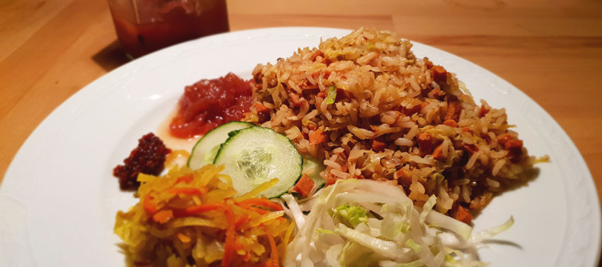 Vegan Surinaamse nasi recept Vegetarisch Weekmenu